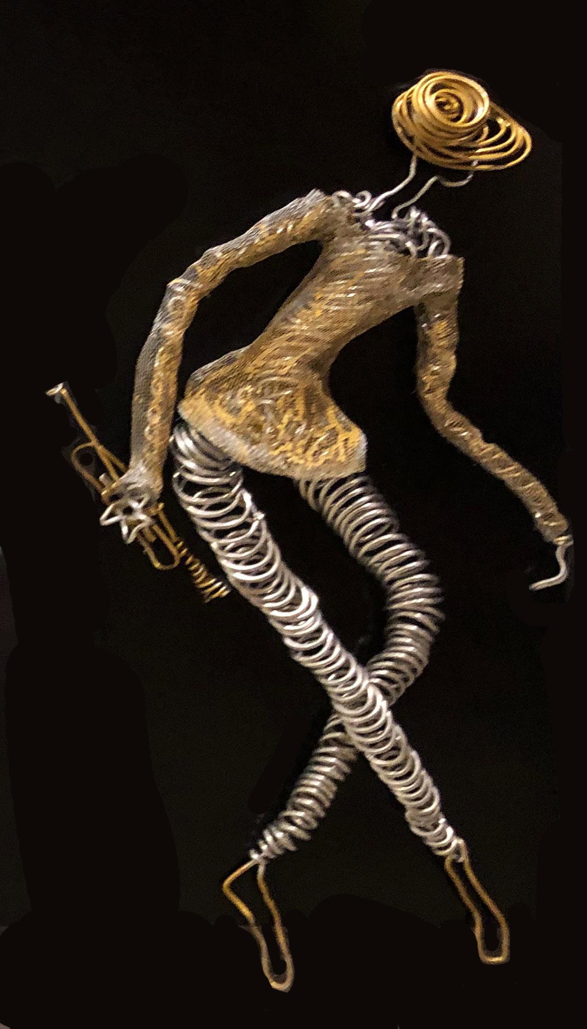 Dancing Trumpeter